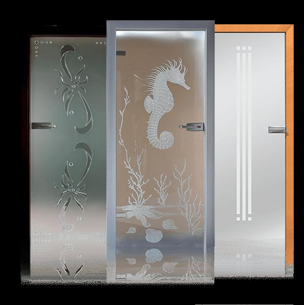 Drzwi całoszklane Wiśniowski