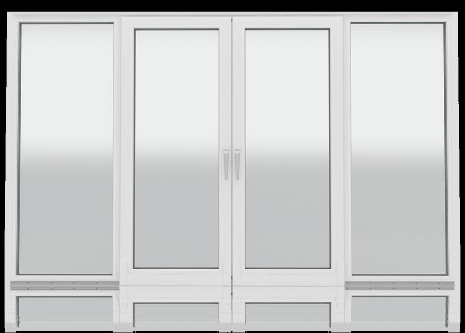 Drzwi tarasowe PVC Wiśniowski